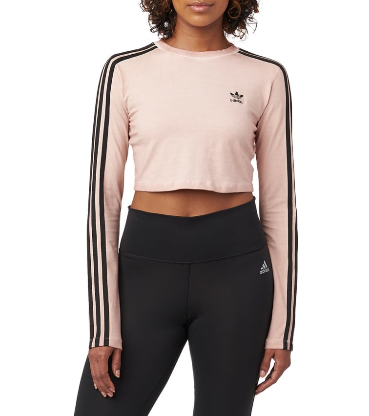 first rate most popular buying new Adidas Originals Long Sleeve Top In Dark Pink   ModeSens
