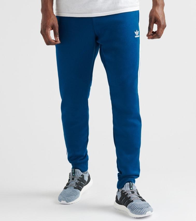 Adidas Originals Superstar Track Pant In Dark Blue