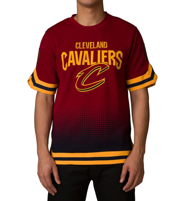 official photos 2b6a7 64583 Unk Cleveland Cavaliers Digital Grade Tee (Burgundy) - GTM3556F | Jimmy Jazz