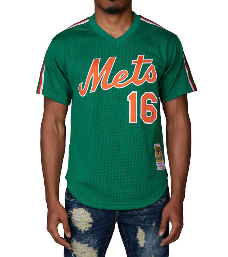 low priced d05e1 22613 Mitchell And Ness NY Mets 1988 Dwight Gooden Jersey (Green) - LA64SFNYMEC8  | Jimmy Jazz