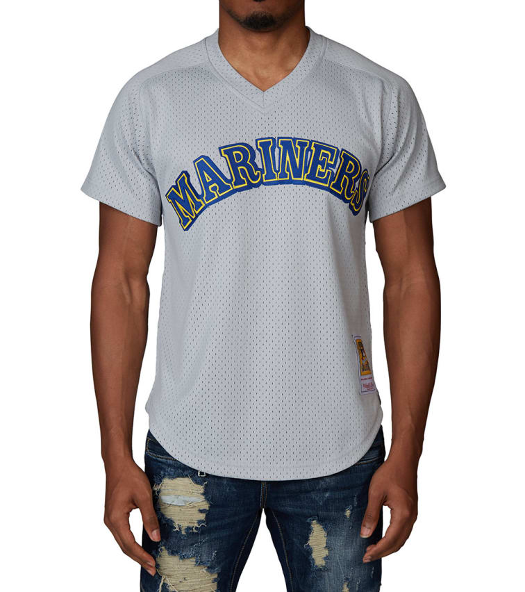 check out 6304e 12f28 Mitchell And Ness Marners 1989 Ken Griffey Jr Jersey (Grey) - LA64SISMAGC |  Jimmy Jazz