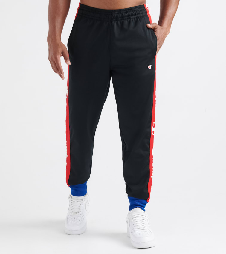 best sale usa online detailed pictures Track Pant With Taping in Black