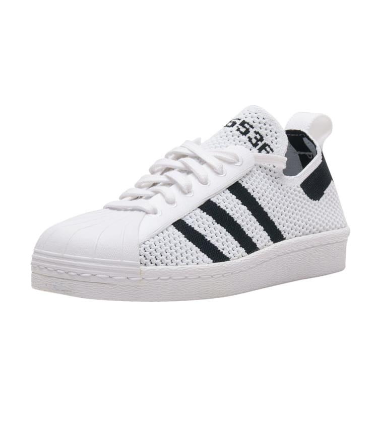 Adidas Womens Superstar 80s Primeknit S76536 Size 7