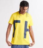 Tommy  Logo Tee  Yellow - 09T3551-732 | Jimmy Jazz