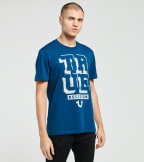 True Religion  Guided Crew Neck Tee  Blue - 104736-1210 | Jimmy Jazz
