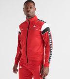 Kappa  222 Banda Merez Slim Track Jacket  Red - 303LP60-983 | Jimmy Jazz