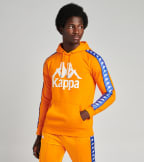 Kappa  Authentic Hurtado Pullover Hoodie  Orange - 303WH20-A0N | Jimmy Jazz