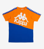 Kappa  222 Banda Baldwin Tee  Orange - 304NQB0-A0L | Jimmy Jazz
