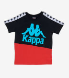 Kappa  Boys 3-12 222 Banda Baldwin  Red - 304NQB0Y-A65 | Jimmy Jazz