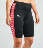 Kappa  Banda Circles Bike Shorts  Black - 304TJF0-A0S | Jimmy Jazz