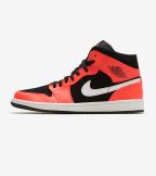 Jordan  Air Jordan 1 Mid  Red - 554724-061 | Jimmy Jazz
