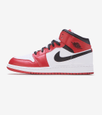 Jordan  Air Jordan 1 Mid  Red - 554725-173 | Jimmy Jazz