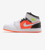 Jordan  Air Jordan 1 Mid  White - 554725-870 | Jimmy Jazz