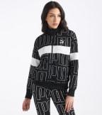 Puma  All Over Print Track Jacket  Black - 59625101-001   Jimmy Jazz