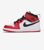 Jordan  Air Jordan 1 Mid Chicago  Red - 640734-173 | Jimmy Jazz