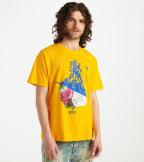 A.K.O.O.  Flower Child Tee  Yellow - 7011203-YEL | Jimmy Jazz
