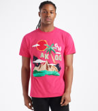 A.K.O.O.  High Plains Knit Tee  Pink - 7011310-RAS | Jimmy Jazz