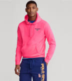 Polo Ralph Lauren  Polo Sport Icon Pullover Hoodie  Pink - 710800486004-PNK | Jimmy Jazz