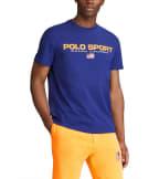 Polo Ralph Lauren  Polo Sport Icon Tee  Blue - 710800906001-FRL | Jimmy Jazz