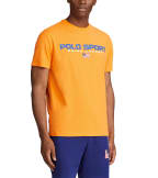 Polo Ralph Lauren  Polo Sport Icon Short Sleeve Tee  Orange - 710800906007-ORG   Jimmy Jazz