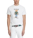 Polo Ralph Lauren  Dubai Bear Tee  White - 710822581007 | Jimmy Jazz