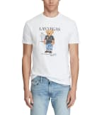 Polo Ralph Lauren  Las Vegas Bear Tee  White - 710822581008 | Jimmy Jazz