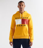 Tommy Hilfiger  Brooks Pullover Hoodie  Gold - 78C9176-779   Jimmy Jazz