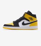 Jordan  Air Jordan 1 Mid   Yellow - 852542-071 | Jimmy Jazz
