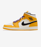 Jordan  Air Jordan 1 Mid  Yellow - 852542-700 | Jimmy Jazz