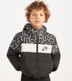 Nike  Boys 4-7 Oversized Puffer Jacket  Black - 86D433-023 | Jimmy Jazz