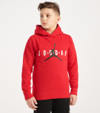 Jordan  BOYS 8-20 Pullover Hoody  Red - 956368-R78 | Jimmy Jazz