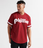 Mitchell And Ness  John Kruk 1991 Phillies BP Jersey  Burgundy - ABPJGS18348-CRD | Jimmy Jazz