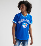 Mitchell And Ness  Joe Carter 1993 Blue Jays BP Jersey  Blue - ABPJGS18362-RYL | Jimmy Jazz