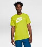 Nike  Nike Sportswear Futura Tee  Green - AR5004-308 | Jimmy Jazz