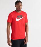 Nike  Icon Futura Tee  Red - AR5004-657 | Jimmy Jazz
