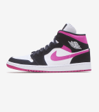 Jordan  Air Jordan 1 Mid Magenta  Multi - BQ6472-005 | Jimmy Jazz
