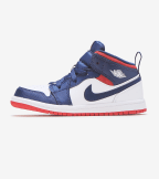 Jordan  Air Jordan 1 Mid SE  Blue - BQ6933-104 | Jimmy Jazz