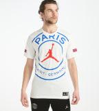 Jordan  Paris Saint-Germain T-Shirt   White - BQ8384-100 | Jimmy Jazz