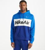 Nike  NSW Nike Air Pullover Hoodie  Blue - CJ4824-480 | Jimmy Jazz