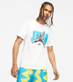Jordan  Short-Sleeve Crew  White - CJ6304-100 | Jimmy Jazz