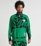 Nike  NSW Half Zip Winter NYC Parks Jacket  Green - CU1394-302 | Jimmy Jazz