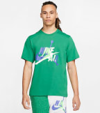 Jordan  Short-Sleeve Crew Jumpman Classics  Green - CV1728-353 | Jimmy Jazz