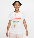 Nike  Nike Girls Outside Tee  White - CV2197-100 | Jimmy Jazz