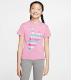 Nike  Nike Girls Outside Tee  Pink - CV2197-693 | Jimmy Jazz