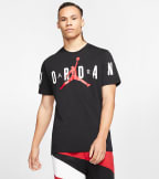 Jordan  Short-Sleeve Stretch Crew  Black - CZ1880-010 | Jimmy Jazz