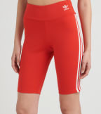 Adidas  3 Stripe Bike Shorts  Red - FM2599-621 | Jimmy Jazz