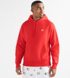Champion  Reverse Weave Pullover Hoodie  Red - GF68Y06145-2WC | Jimmy Jazz
