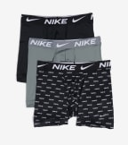 Nike  Essential Micro 3 Pack Boxer Briefs  Black - KE1015-015 | Jimmy Jazz