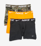 Nike  Essential Micro 3 Pack Boxer Briefs  Camo - KE1015-345 | Jimmy Jazz