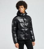 Superdry  High Shine Padded Jacket  Black - M5010189A-BLK | Jimmy Jazz